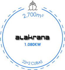 buque atunero congelador alakrana