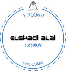 buque atunero congelador euskadi alai